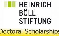 ทุนปริญญาเอก มูลนิธิ Heinrich Böll