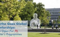 Goethe Goes Global Scholarship ทุนปริญญาโท