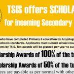 TSIS Scholarships ทุนมัธยม