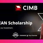 ทุนปริญญาตรี CIMB scholarships